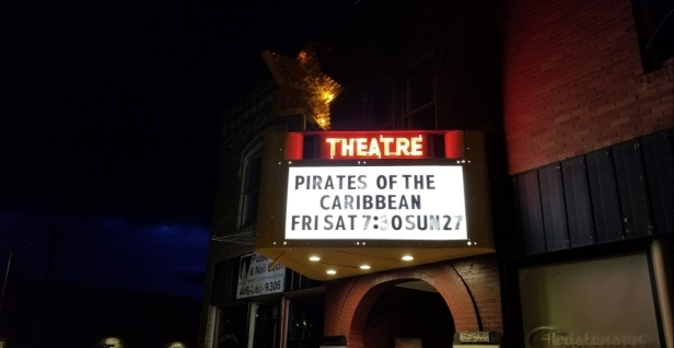 Theatre Sign Night